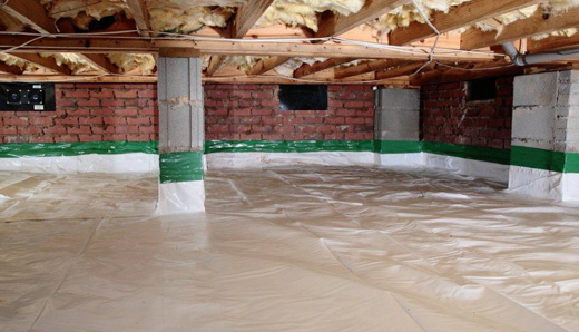 Vapor barriers, drains, sump pump service in South Carolina